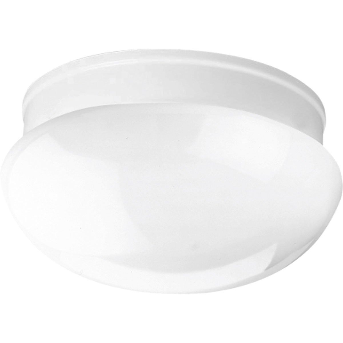Progress Lighting P3410-30 2-Light Close-To-Ceiling Fixture, White