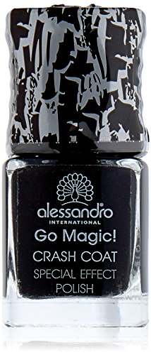 alessandro Go Magic Crash Coat black Effektlack, 1er Pack (1 x 10 ml)