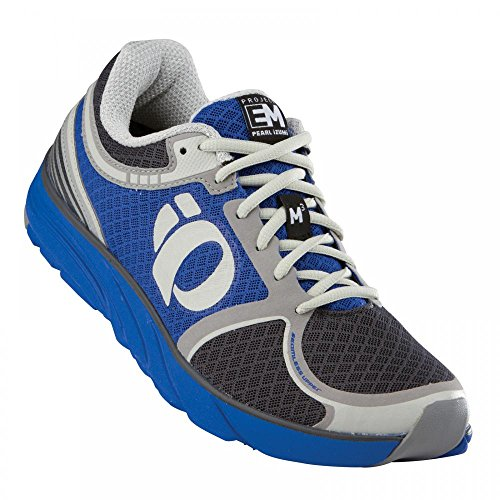 Pearl Izumi - Run Women's EM RoaB M 3 Running Shoe,Dazzling Blue/Shadow Grey,8 B US