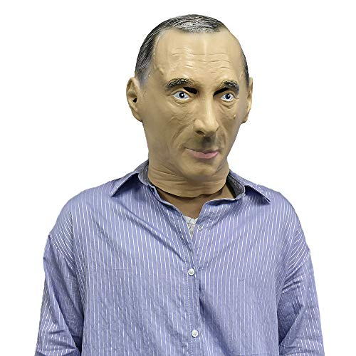Realistic Male Mask Human Face Man Celebrity Rubber Latex Mask Disguise Halloween Costume