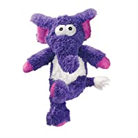 KONG Cross Knots Plush Squeaky Dog Chew Toy - Elephant