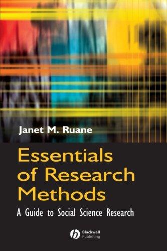Essentials Research Methods