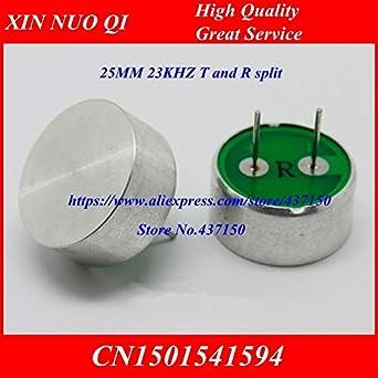Fevas Ultrasonic Sensor XNQ23-25AT/R Drive Dog ultrasonic Sensor Emitting Head Driving Dog Sensor 25MM 23KHZ - (Color: 2pcs T and 2pcs R): Amazon.com: ...