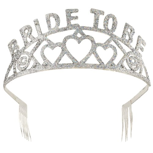 Forum Novelties Glitter Tiara (Bride to Be)]()