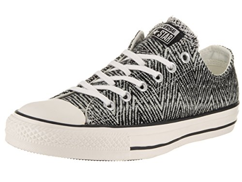 Converse Women's Chuck Taylor All Star Ox Black/Egret/Egret Casual Shoe 9 Women (Costume Converse)
