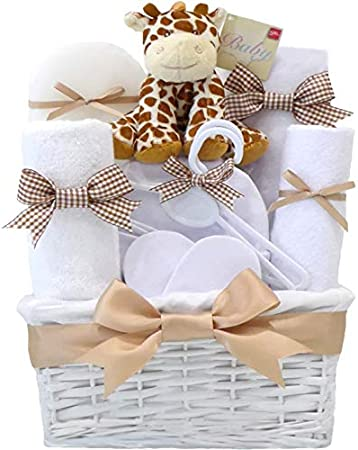 Personalised baby girl hamper Unique baby shower gift basket ideas Baby shower gift hamper New baby girl gift UK Newborn girl gift