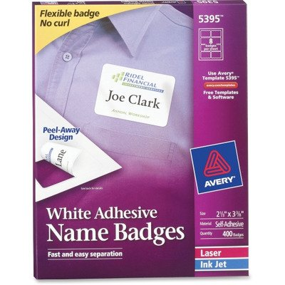 Amazon Ave5395 Avery Name Badge Label Office Products