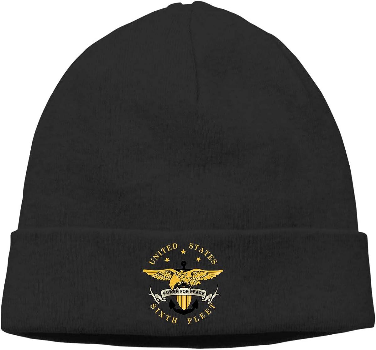 Lapptty Cap Navy Sixth Fleet Men Women Beanie Hat Knitted Beanie Knit Beanie