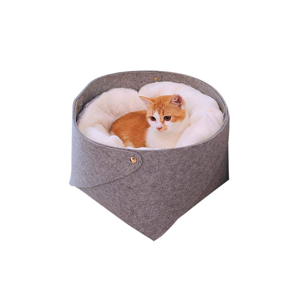 282823CM pet bed Lounge Sofa Durable Carrier Warmth and Security Cave Small House Deep sleeping Autumn And Winter Nest Keep warm Portable For dogs cat