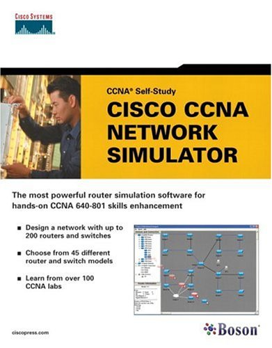 Buy Cisco CCNA Network Simulator (CCNA Self-Study, 640-801