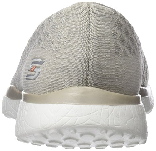 Microburst Beige Up Skechers Sneaker Natural One Donna URqndFB