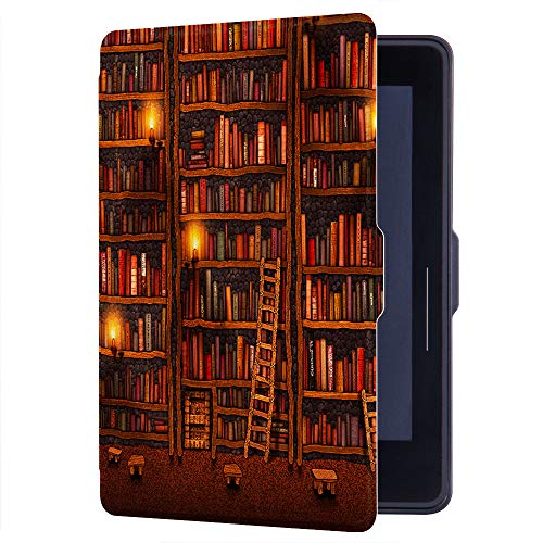 HUASIRU Painting Case for Amazon Kindle Voyage Cover with Auto Sleep/Wake