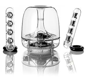"Harman/Kardon SoundSticks III - Set de altavoces (2.1, 40W, 10W, 20W, 15,24 cm (6""), 65W) Transparente"