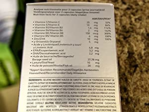 A fortifying daily supplement for the hair, nails and skin 120 Capsules (Two Month Supply)