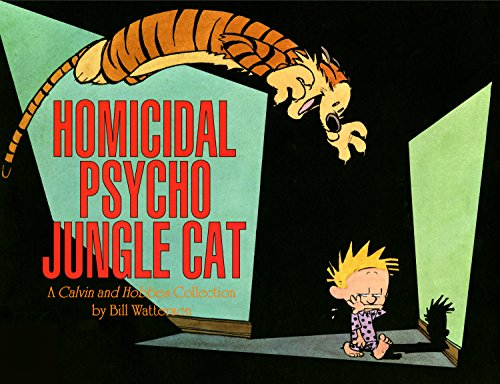 Homicidal Psycho Jungle Cat: A Calvin and Hobbes Collection (Calvin and Hobbes series Book - Tiger Model Collection