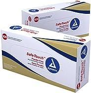 Dynarex Multi Care Vinyl Exam Glove, Powder Free, Large (Pack of 100)