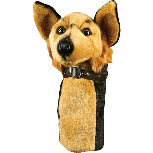 Golf Gifts and Gallery German Shepard Animal Headcover, Outdoor Stuffs