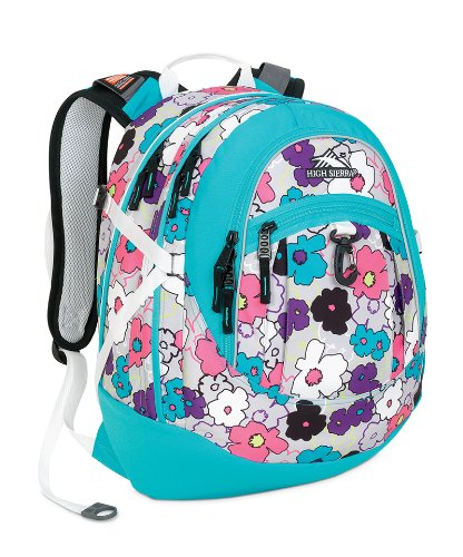 High Sierra Fat Boy Backpack (19.5 x 13 x 7-Inch, Teal - Sierra Sling High