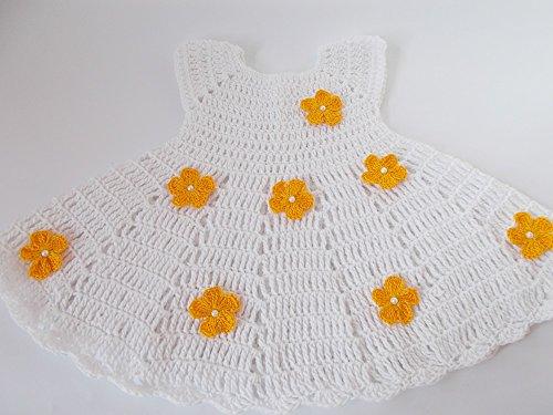 Buy hand crochet baby dresses - 8