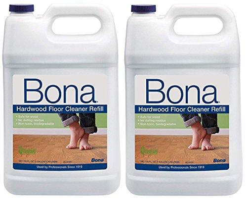 Bona Kemi Hardwood Cleaner - Bona Hardwood Floor Cleaner Refill 128oz, 2 Pack