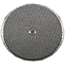 Flat Round Range Hood Filter; 11-1/2 diameter; with center hole