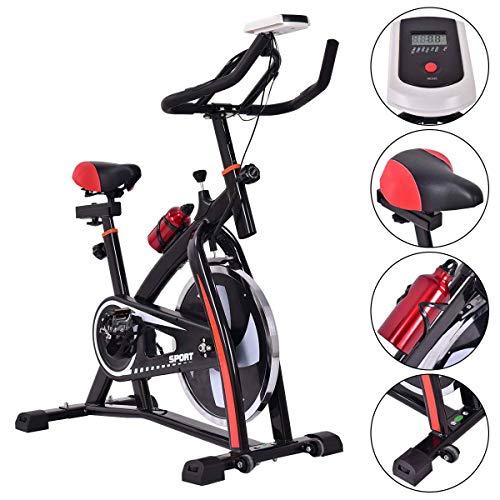 Toolsempire Indoor Exercise Bicycle Bike Adjustable