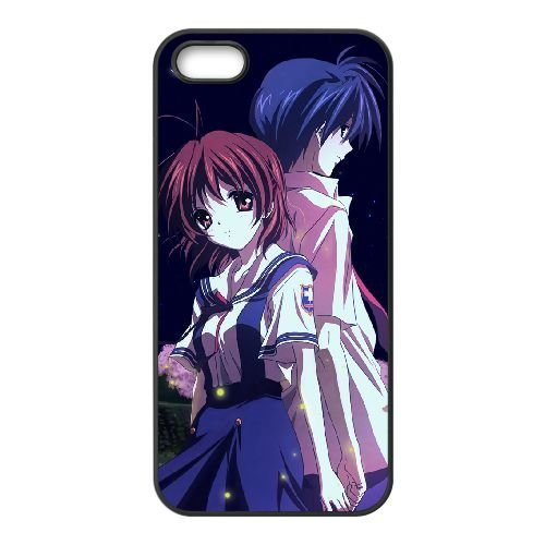 Clannad iPhone 5 5s Cell Phone Case Black T4T4AN