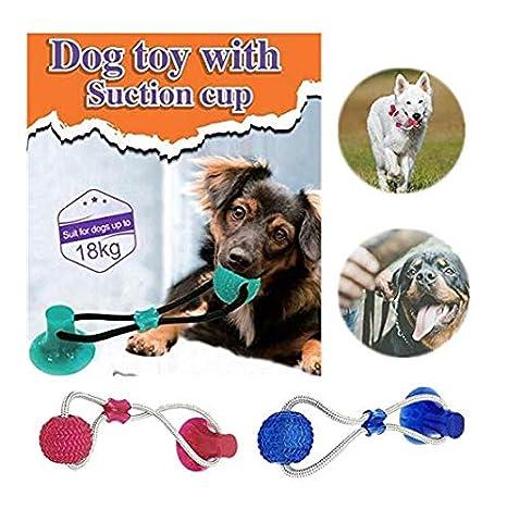 Pelota de elasticidad para mascotas, juguete para masticar ...