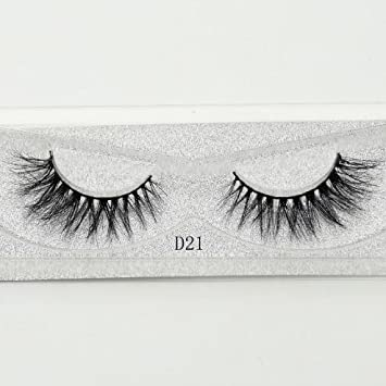 393127cf8a3 Amazon.com : Lash Mink Eyelashes 3D Mink Hair Lashes Wholesale 100% Real  Mink Fur Handmade Crossing Lashes Thick Lash 11 Styles New 1Pair D21 :  Beauty
