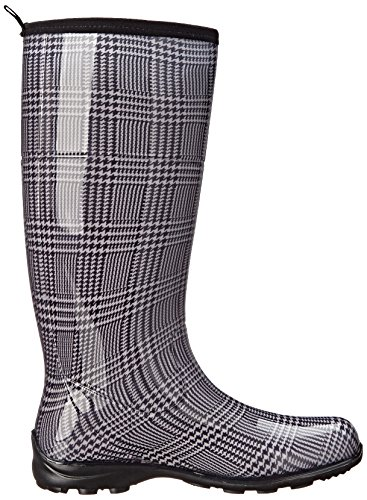 Women's Waterproof Checks Black Boots Plaid Kamik Rain 7zFWTn5qw