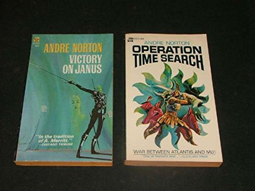 2 SF PBs by Andre Norton: Operation Time Search, Victory on Janus ()
