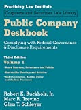 img - for Public Company Deskbook: Complying with Federal Governance & Disclosure Requirements (3-Volume set) (Corporate and Securities Law Library) book / textbook / text book