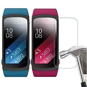 Creazy® 5PC HD película inteligente LCD Protector de pantalla para Samsung Gear Fit 2sm-r360