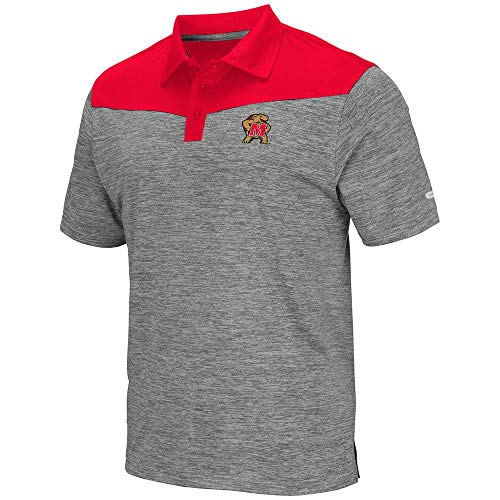 Mens Maryland Terrapins Polo Shirt - -