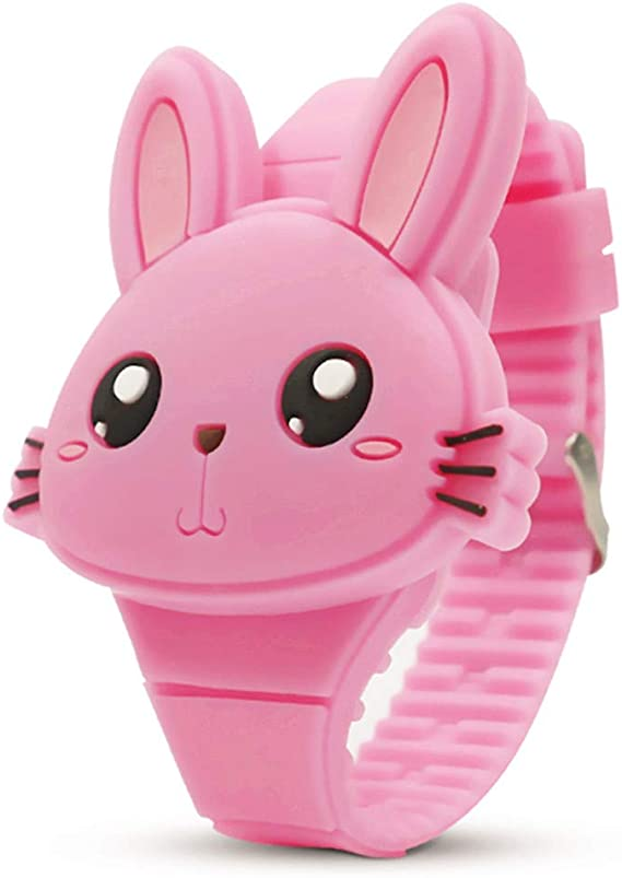 Image result for Kids Digital Watch,Cute Rabbit Shape,Girl Gifts.