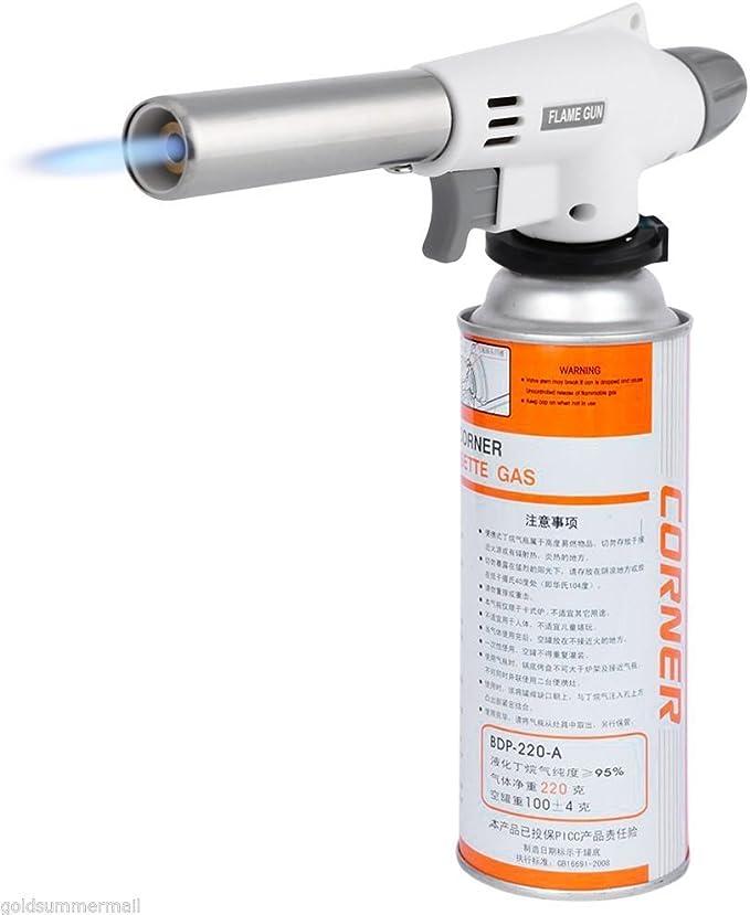 920 - Adaptador de Gas para quemadores de butano y Armas de Fuego Totalmente automático, para Estufa al Aire Libre, Senderismo, Acampada