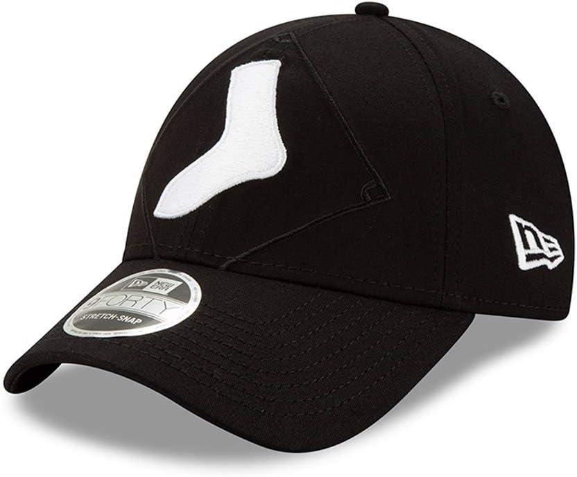 Mens New Era Baseball 9Forty Adjustable Cap Chicargo White Sox Black