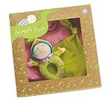 Manhattan Toy Snuggle Pods Onesie Gift Set, Sweet Pea Pink