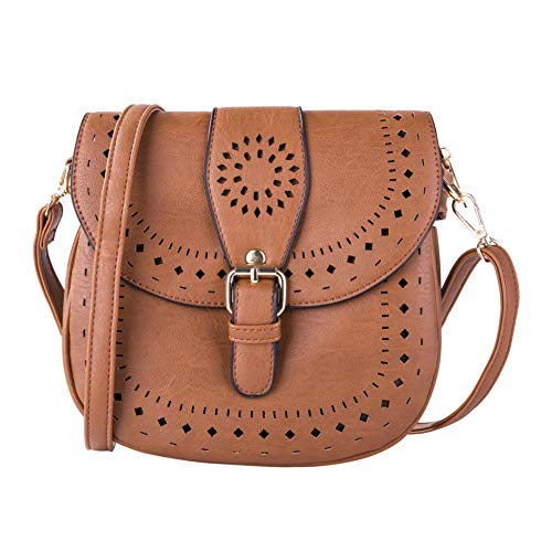 PU Leather Hollow Shoulder...
