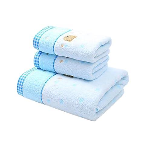 Moda toalla de baño toalla de playa – Juego de toalla de mano toallas de algodón