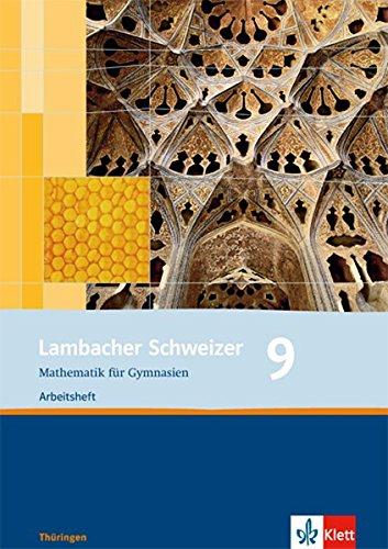 Lambacher Schweizer - Ausgabe für Thüringen. Neubearbeitung / Arbeitsheft plus Lösungsheft 9. Schuljahr
