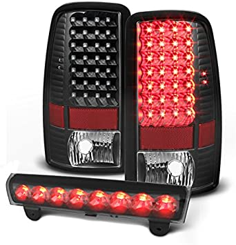 00 06 Chevy Tahoe Suburban GMC Yukon LED Third Brake Light Cargo Lamp Tailgate L