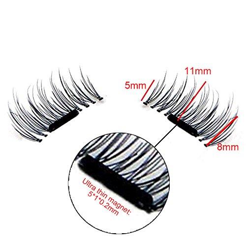 Wisdompark-New-Magnetic-Eyelashes-4-Pieces-Box-3D-Reusable-False-Magnet-Eyelashes-Extension-kit