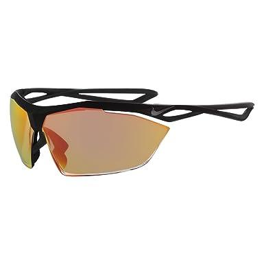 726d8da93 Óculos NIKE Vaporwing R Ev0914 001 Preto Lente Espelhada Vermelho Ouro  Laranja Tam 87