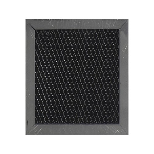 Air Filter Factory Compatible Replacement for Whirlpool 8206230A Charcoal Carbon Microwave Oven Filter 5-1/8