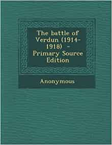 battle of verdun sources pdf