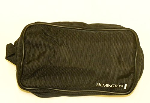 Deluxe Zippered Canvas Shaver and Toiletries Travel Bag