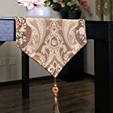JFFFFWI Table rotor cloth in a hemicycle luxury communities, jacquard table cloth table runner, table flag - a 34 x 13 x 260 cm (102 customs)