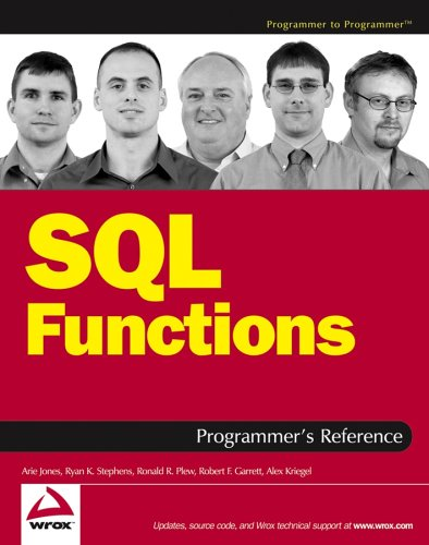 SQL Functions Programmers Reference Programmer to ...