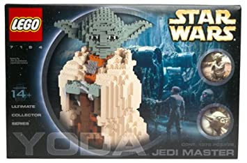 amazoncom lego star wars jedi master yoda 7194 toys games - Lego Yoda